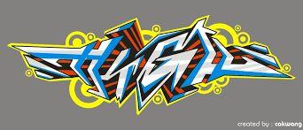 Hasil gambar untuk teks grafiti keren