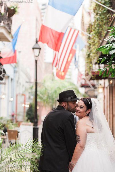 Congratulations Heather Eric Beautiful French Quarter Elopement