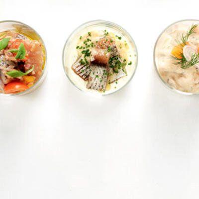 Norröna matjessill med äggcrème och gräslök - Recept - Stowr