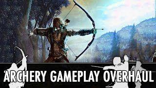 Смотреть онлайн видео Skyrim Mod: Archery Gameplay Overhaul