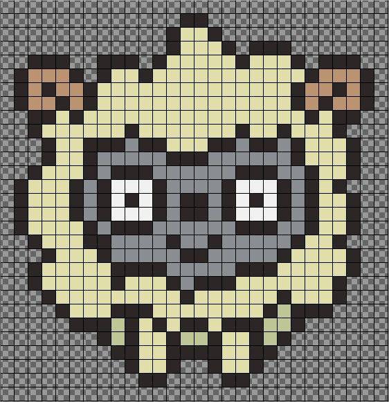 Mejores 60 im genes de hama animales en pinterest hama beads animales y arte pixel - Perle a repasser ikea ...