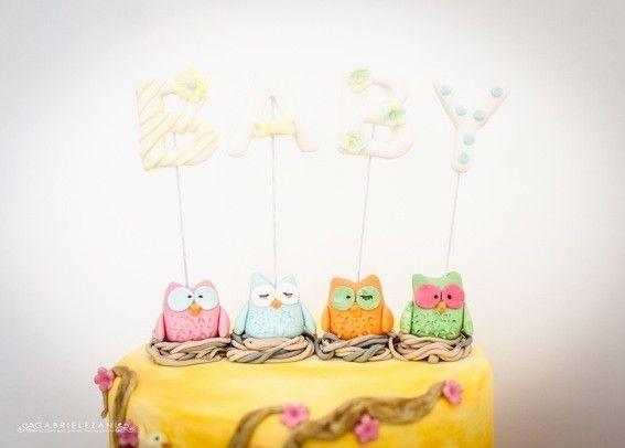 Cake owls