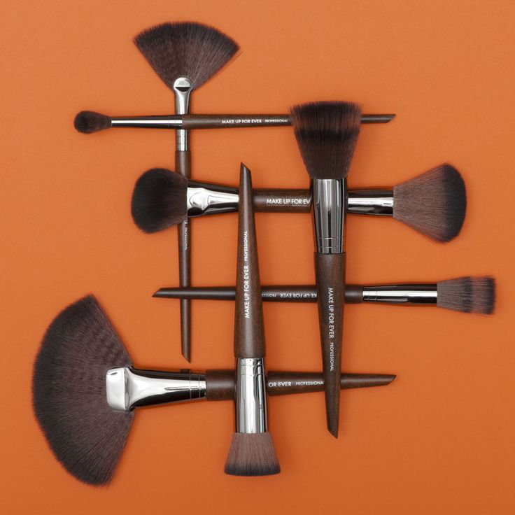 Artisan makeup brushes by MAKE UP FOR EVER