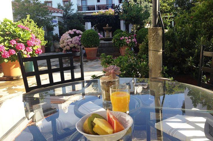 Description: Hotel Alcadima ? Lanjarón - Andalusië  Fijn hotel in een mooie omgeving aan de rand van de Sierra Nevada.  Tuin vol bloemen Precies aan de rand van de Sierra Nevada ligt Hotel Alcadima. De kamers zijn warm en landelijk ingericht wat een gevoel van huiselijkheid geeft. Eén van de verrassingen die dit hotel in petto heeft is wel de 6000 m2 (!) grote tuin vol groen bloemen en romantische hoekjes. Daar vind je altijd wel een plek waar je helemaal alleen kunt zijn. Een andere…