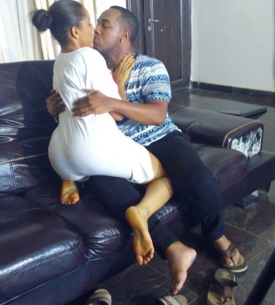 #BBNaija: Throwback Picture of Gifty Engaged in a Wet Kiss Surfaces on Instagram