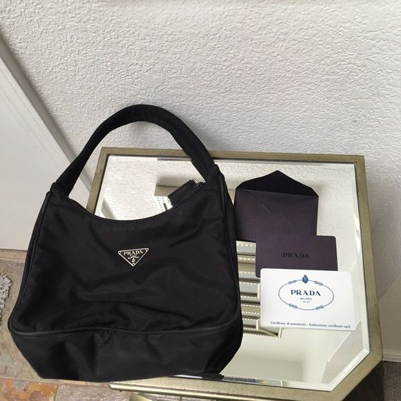 prada bag real or fake - ??% authentic Prada handbag with authenticity card | Prada ...