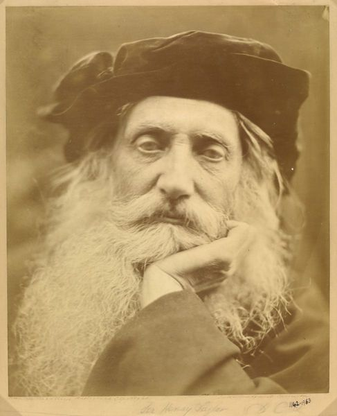 Henry Taylor by Julia Margaret Cameron, 1867. l Victoria and Albert Museum #Novembeard #mustache
