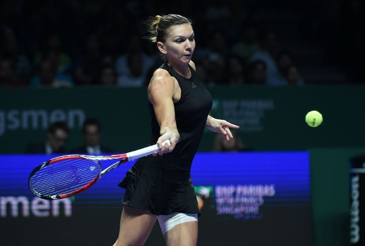 WTA Finals 2014: Simona #Halep beats Serena Williams with 6 0, 6 2 #tennis