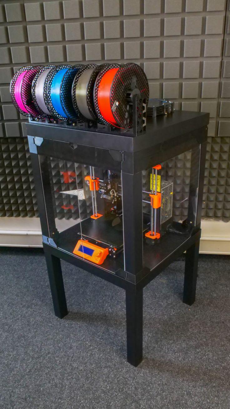 Prusa Printer Enclosure V2 with MMU2S support Prusa