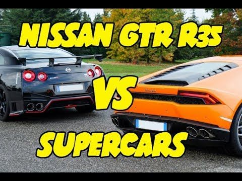 LOUD EXPENSIVE SUPERCARS VS NISSAN GTR R35 - WATCH VIDEO HERE -> http://bestcar.solutions/loud-expensive-supercars-vs-nissan-gtr-r35     Costly cars (supercars, hypercars) VS Nissan GTR R35. Noisiest emissions with flames, anti-lag and HUGE turbo cars acceleration.   Video credits to 100% Automotovideo YouTube channel