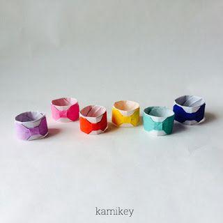 創作折り紙 kamikey : リボン