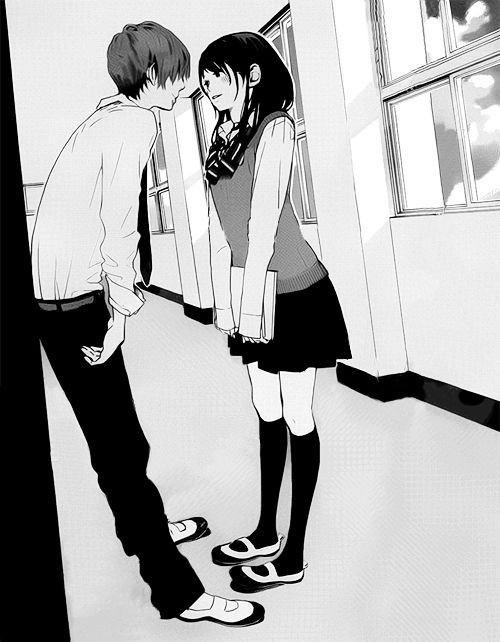 Heheh :D My school is not a big one like the school that I saw In anime *BUT* I'm doing this stuff with my bf :3 *Me* *shy person* *and a little lonely* *but I like it* xD