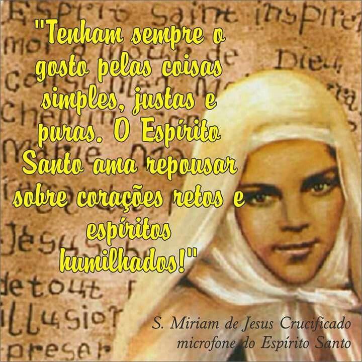 Santa Miriam de Jesus Crucificado