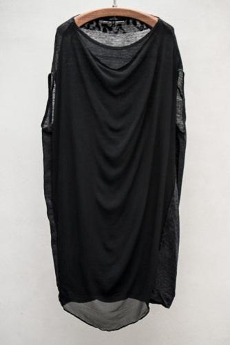 PAS DE CALAIS WOOL / SILK DRESS -