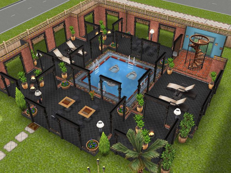 The 111 best images about sims freeplay design ideas on pinterest 2nd floor mansions and - Sims freeplay designer home ...