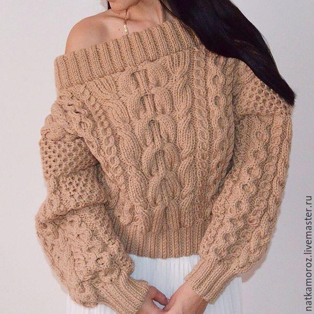 Свитер в стиле Рубан - MOROZ knitwear - Ярмарка Мастеров http://www.livemaster.ru/item/13674737-odezhda-sviter-v-stile-ruban