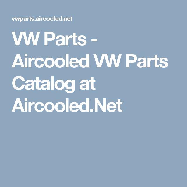 VW Parts - Aircooled VW Parts Catalog at Aircooled.Net