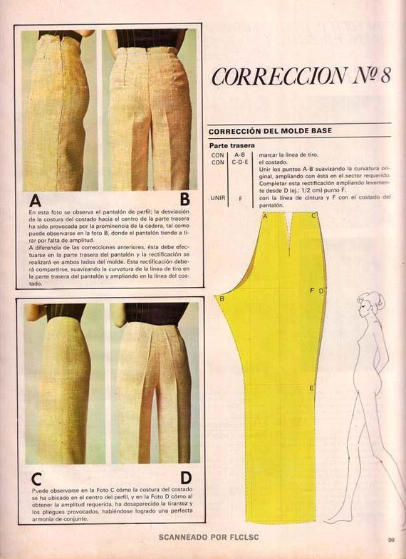Regolazione pantaloni motivo di regolazione pantaloni modello # 8