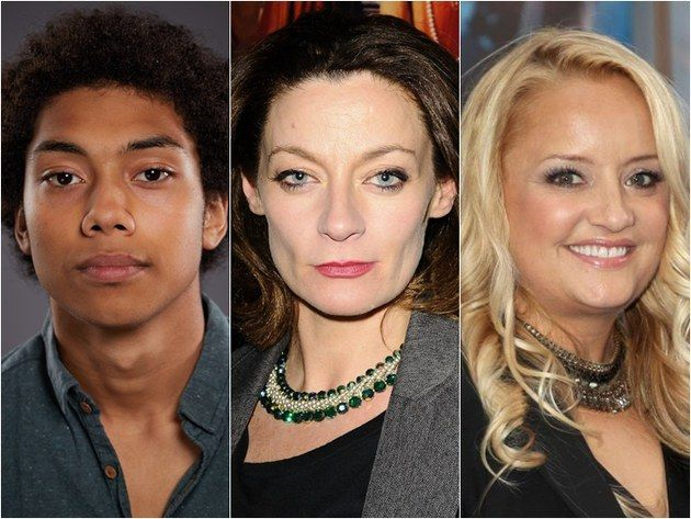 Michelle Gomez, Chance Perdomo et Lucy Davis au casting de Sabrina l'apprentie sorcière de Netflix