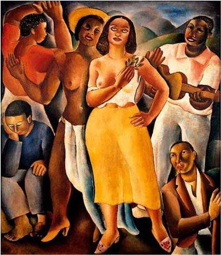 Di Cavalcanti (Emiliano Augusto Cavalcanti de Albuquerque e Melo), 1897-1976 - Rio de Janeiro.