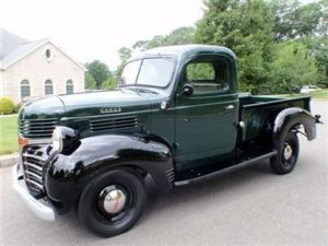 A 1942 Dodge pickup perfect for cruising to the Farmer's Market...