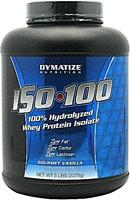 Dymatize ISO 100 Hydrolyzed Whey Protein Isolate Vanilla
