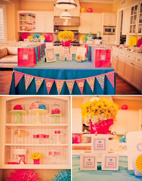 Modern Alice in Wonderland Birthday Party
