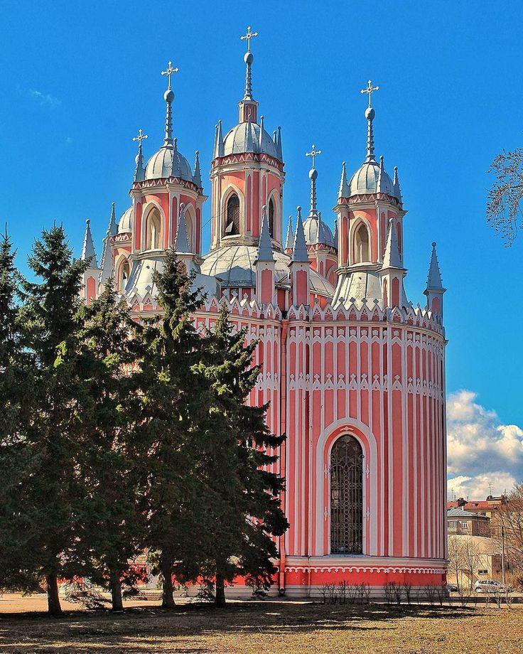 Чесменская церковь.    Автор фото: Alexsandrkonovodov.