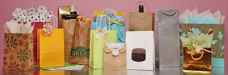 Paper Bags, Kraft Paper Bags, Wholesale Prices