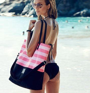 Borse da Spiaggia 2015: le 5 Caratteristiche che devono avere per essere comode e cool Borse da spiaggia 2015 Victoria's Secret