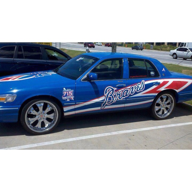 17 Best Images About Atlanta Braves Cars And Trucks On
