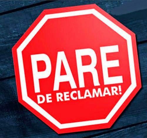 LAETA HAIR FASHION SALÃO DE BELEZA: PARE DE RECLAMAR , FAÇA A DIFERENÇA !