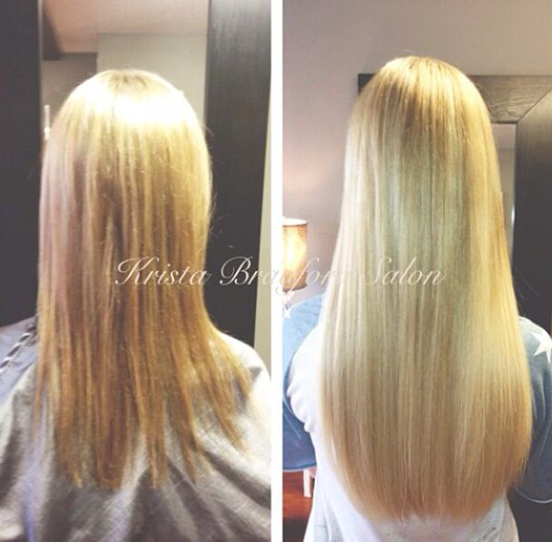 long blonde hair hair extensions before after hair extensions pinterest. Black Bedroom Furniture Sets. Home Design Ideas