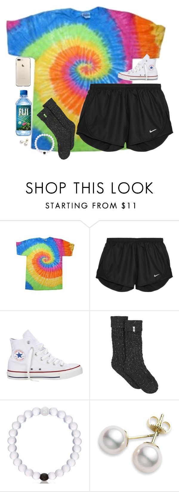 """nobody's perfect"" by southernstruttin ❤ liked on Polyvore featuring NIKE, Converse, UGG and Mikimoto"