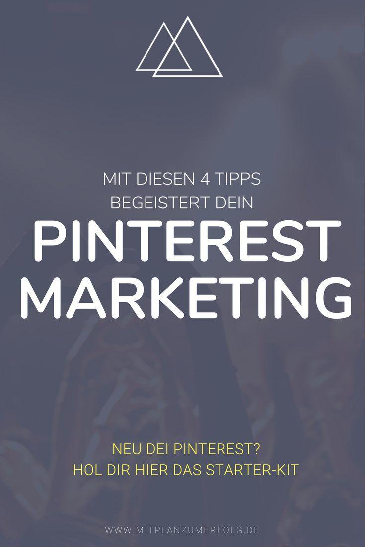 Nutzt Du auch schon Pinterest Marketing, um gezielt Besucher auf Deine Webseite zu bringen? Mit diesen extra-Tipps wirst Du damit noch erfolgreicher.