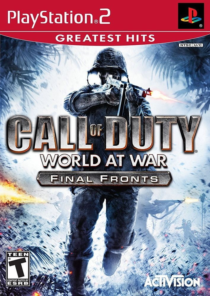 Call of Duty: World at War Greatest Hits Final Fronts - PlayStation 2  | Video Games & Consoles, Video Games | eBay!