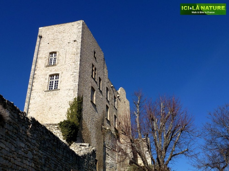 Lacoste - Medieval castle of Marquis de Sade.....  http://icietlanature.com/tour/3-self-guided-tour-in-provence-and-luberon