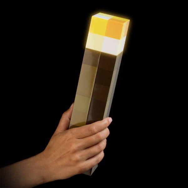 Light-Up Minecraft Torch - Zoledo