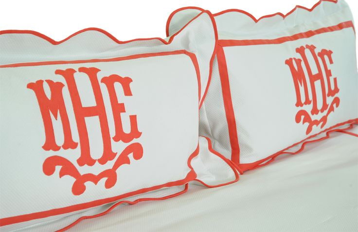 Leontine Linens Rayford in Coral