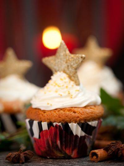 Cup voor cupcake met Amaryllisprint op Mooiwatbloemendoen.nl