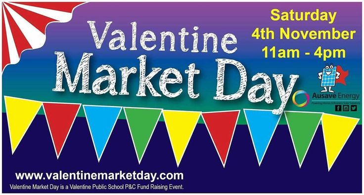 #MARKET!! To our friends in the #Valentine / #Belmont #NSW area. Bring yourself your family & friends this Saturday 4th November to the Valentine Market Day!! There will be plenty of fresh local produce heaps of stalls entertainment & we will also be there handing out free brochures & hosting a draw for your chance to win $1000 cash. See you there!!  #ausaveenergy #solar #solarelectricity #solarhotwater #solarpower #solarprofessionals #renewableenergy #valentinemarketday Don't forget to…