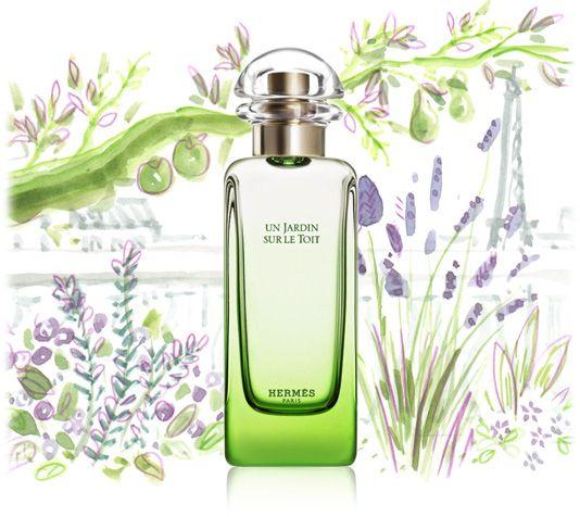 Un Jardin sur le Toit - parfum pas Hermès