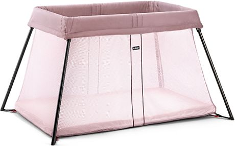 Baby BJORN Travel Crib Light • Pink