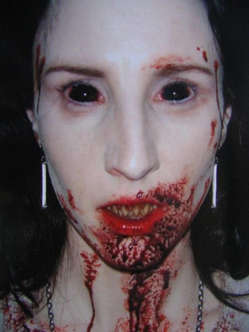 "The lead female vampire in ""30 Days of Night"". The makeup/effects were spare and otherworldly looking, gaunt and frightful. Not the usual vampire-near-human look that gets very boring and predictable."