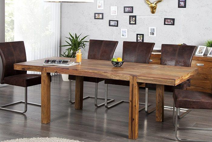 Stół rozkładany Lagos 120-200cm sheesham
