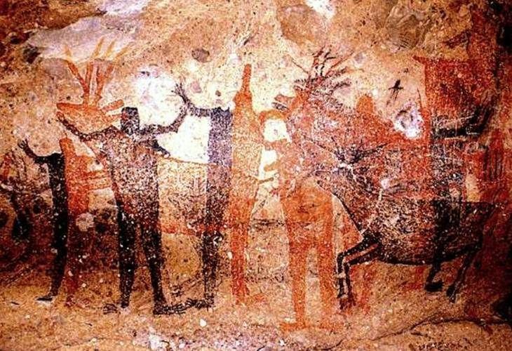 Hasta 1962, este conjunto de manifestaciones sólo eran conocidas entre la población local, hasta que el arqueólogo estadounidense Clement Meighan las dio a conocer.  Especial.