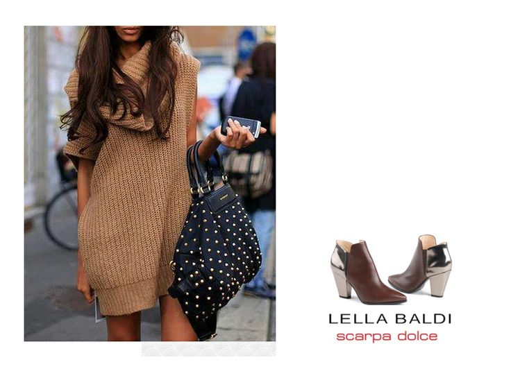 I love to combine long, warm, woolen sweaters wiht ankle boots! :)  Check out the boots on: http://goo.gl/uLfVqa