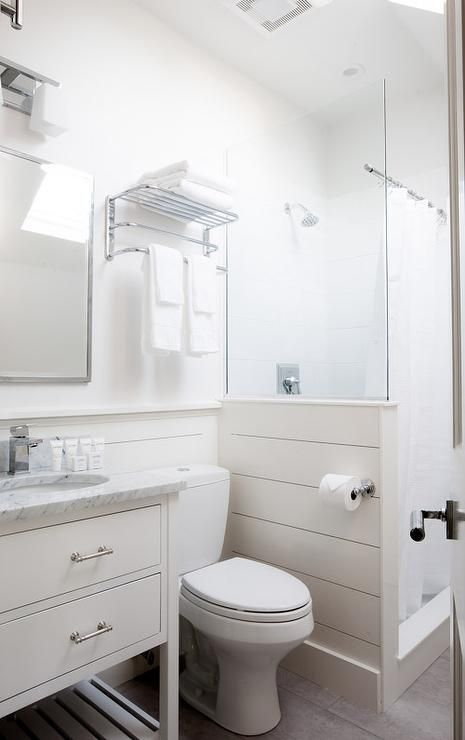 Rachel Reider Interiors Bathrooms Shiplap Shower