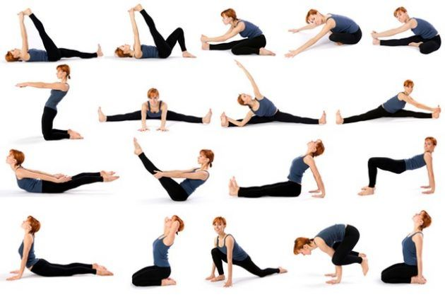 Ejercicios De Yoga Para Principiantes Para Hacer En Casa Yoga Principiantes Posturas Básicas De Yoga Ejercicios De Yoga