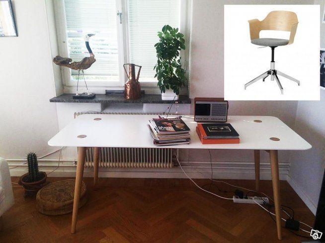 Skrivbord/matbord och skrivbordsstol   Stockholm